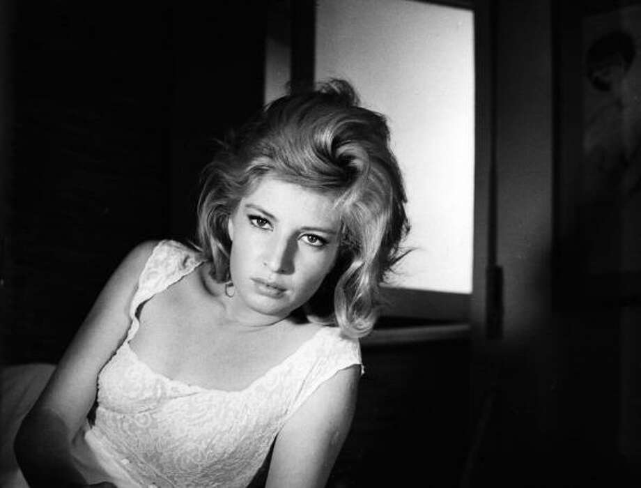 Portrait of the Italian actress Monica Vitti. 1964. Photo: Mondadori, Mondadori Via Getty Images