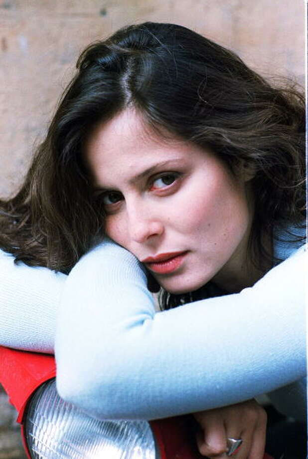 Aitana Sanchez Gijón, Spanish actress. Circa 1995. Photo: Fernando Camino, Cover/Getty Images