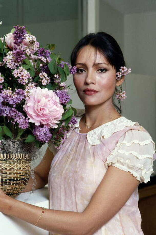 American actress Barbara Carrera, circa 1980. Photo: Maureen Donaldson, Getty Images