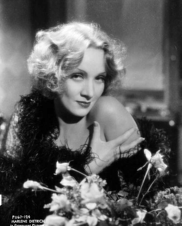 Marlene Dietrich (1901 - 1992) in 1932. Photo: Don English, Getty Images