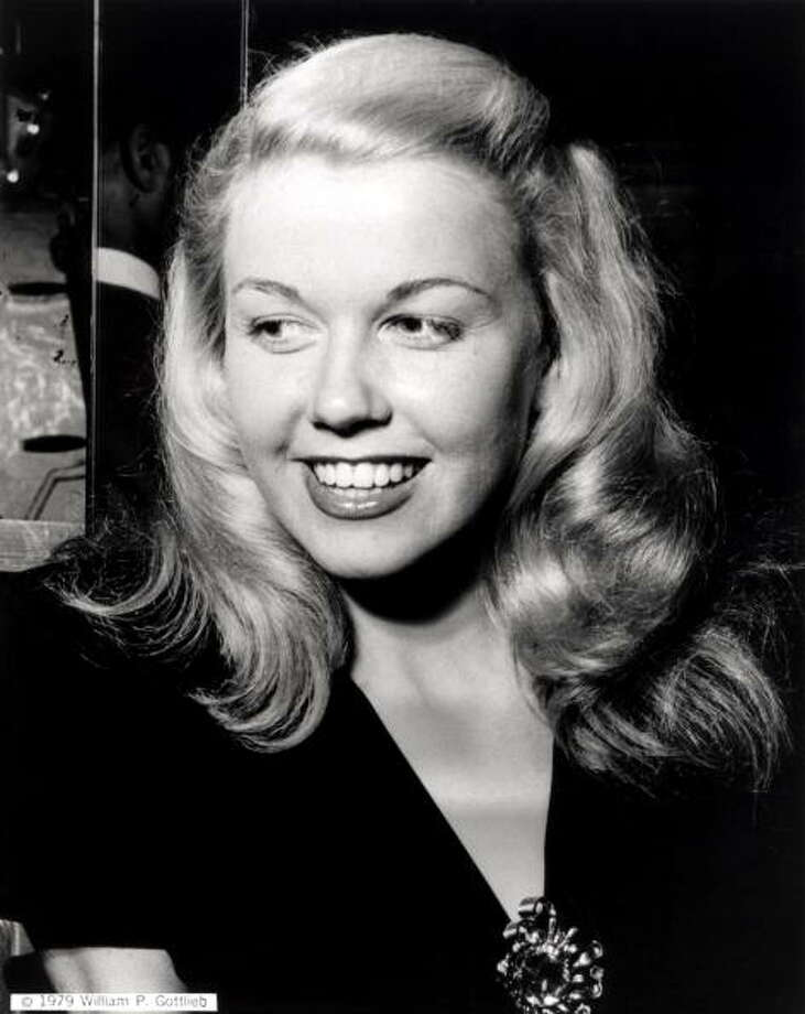 Doris Day, shown here when she was a band singer. Photo: William Gottlieb, Redferns