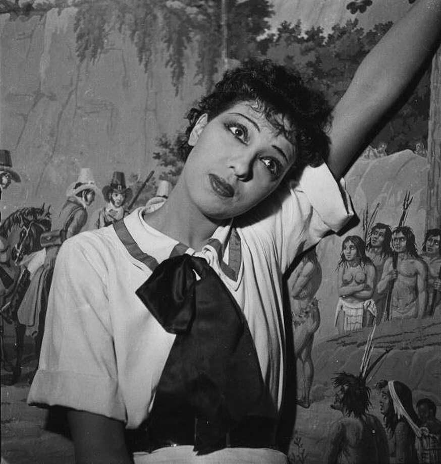 "Josephine Baker in ""La Creole"". Paris, Theatre Marigny, December 1934. Photo: Gaston Paris, Roger Viollet/Getty Images / Gaston Paris/Roger Viollet"