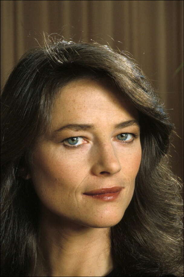 Charlotte Rampling, actress, in France In October, 1977. Photo: Daniel SIMON, Gamma-Rapho Via Getty Images / 2011 Gamma-Rapho