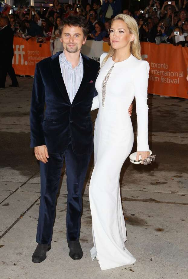 Something about Kate Hudson and Matthew Bellamy's easy style makes it seem like they never have to try hard to look really good. We can't help but hold it against them. Photo: Joe Scarnici, Getty Images