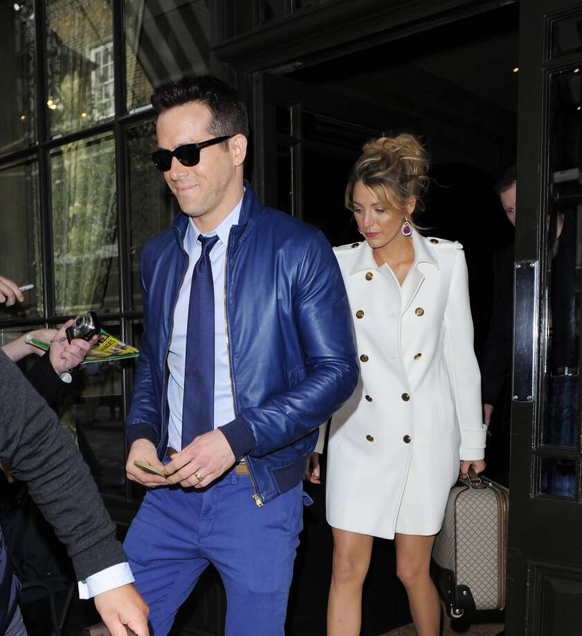 Blake Lively and Ryan Reynolds: incredibly good-looking, equally stylish. Photo: Bauer-Griffin, GC Images