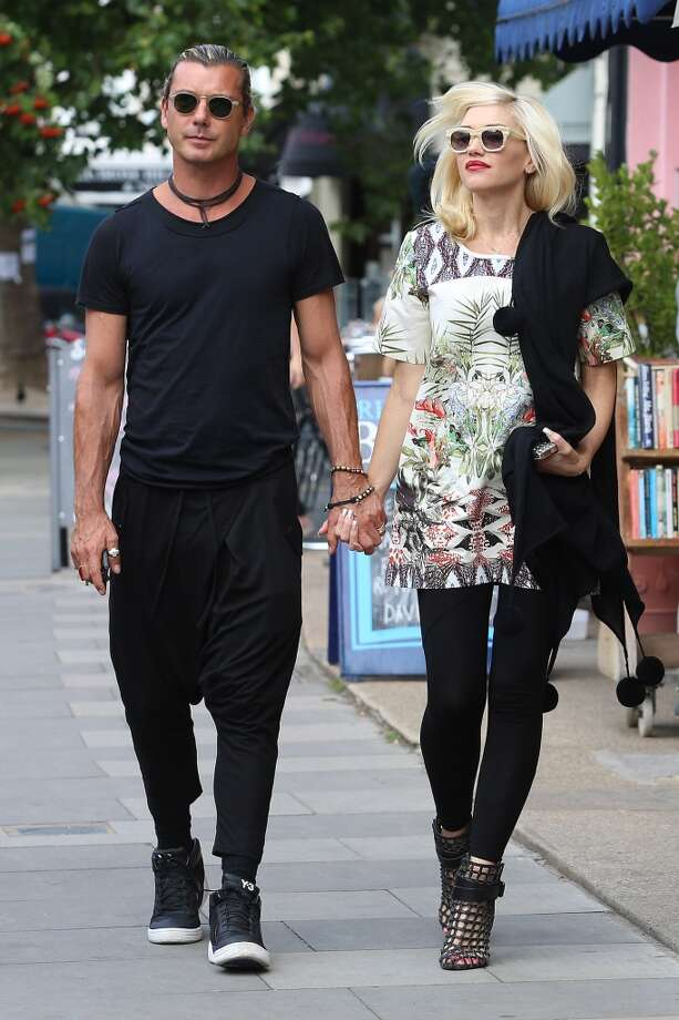 On the flip side, Gwen Stefani and Gavin Rossdale are the king and queen of casual and cool. Photo: Neil P. Mockford, FilmMagic