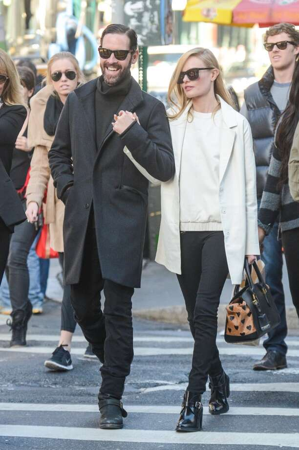 Kate Bosworth and husband director Michael Polish prove that simple is usually better. Photo: Ray Tamarra, Getty Images