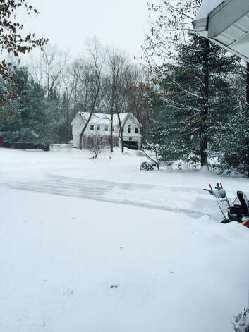 Photo provided by reader Michelle Parks in Ballston Spa. Photo: Facebook