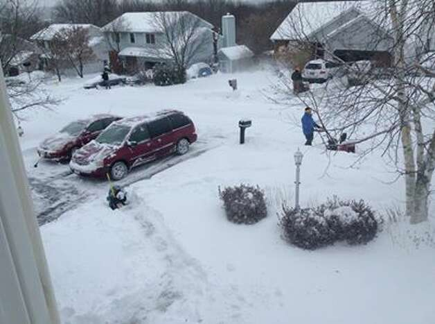 Photo provided by reader Holly Aiken in East Greenbush. Photo: Facebook