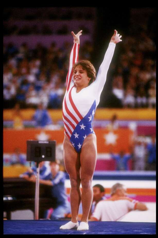 USA's Mary Lou Retton took America by storm when she became the first woman outside Eastern Europe to win the Olympic gold medal in the Gymnastic Individual All-around competition during the 1984 Summer Olympics in Los Angeles. Photo: Steve Powell, Getty Images / Getty Images North America