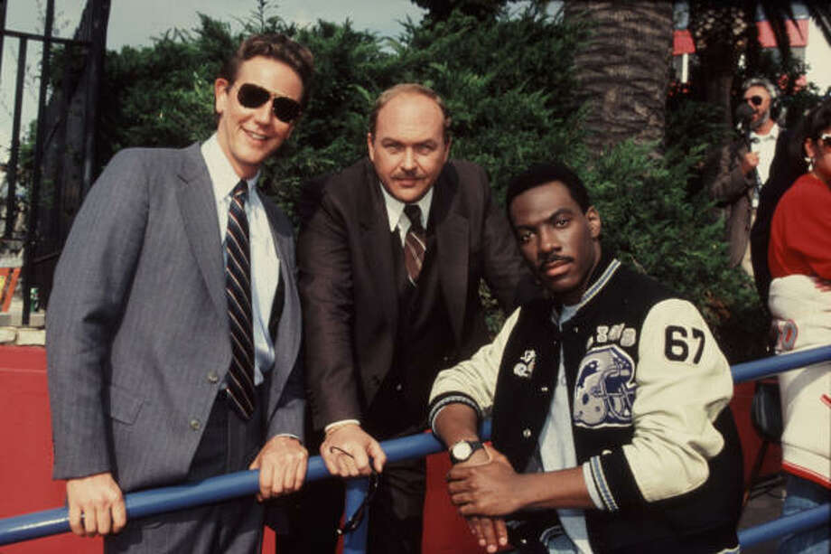 "Judge Reinhold, John Ashton and Eddie Murphy in a publicity shot for ""Beverly Hills Cop,"" 1984.Related Slideshow: More movies turning 30 in 2014 Photo: Paramount Pictures"