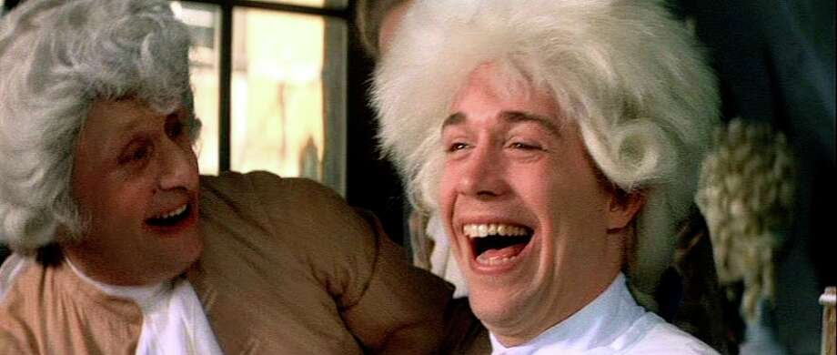 """Tom Hulce is seen as Wolfgang Amadeus Mozart in """"Amadeus,"""" 1984. Photo: Orion Pictures 1984"""