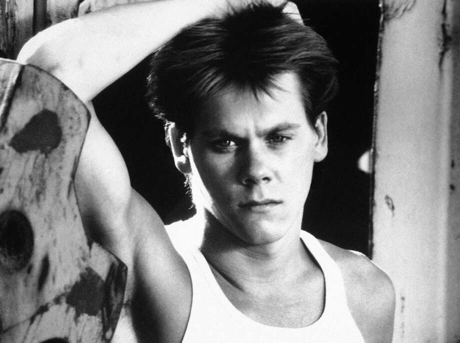 "Kevin Bacon is shown in a scene from the movie ""Footloose,"" 1984. Photo: Associated Press / AP1984"