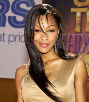 "Actress Meagan Good Note: Alleged photos were reportedly released Sunday, Sept. 21 on 4chan/Reddit.  The 'Think Like a Man' star released an image on her Instagram account which reads: ""I'm definitely in shock... saddened for every one who is experiencing this... but I choose not to give the person responsible my power... At the end of the day, we all know these pictures were for my husband. And at the end of the day evidently we all know how I feel about my titties. That's all I've got folks. Oh yeah and for everyone who's reposting the leaked nudes? You should be ashamed of yourself... You have a blessed day now."" Photo: Jean-Paul Aussenard, WireImage / WireImage"
