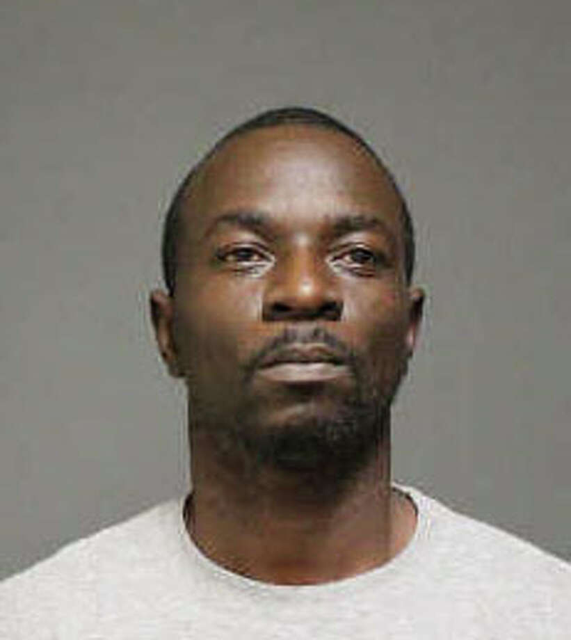 Cab driver Albrent Daniels, 39, is facing weapons charges. Photo: Genevieve Reilly / Fairfield Citizen