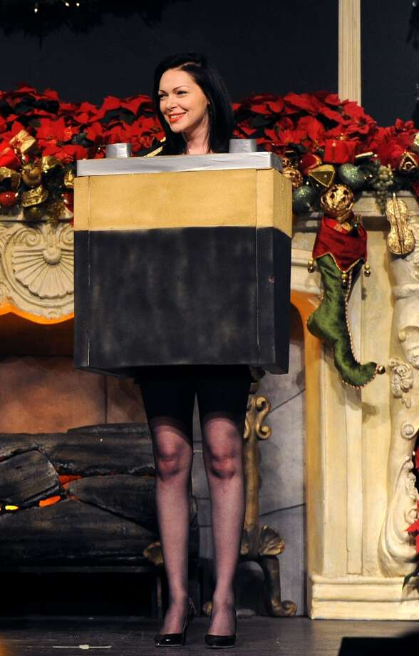 "Laura Prepon performs onstage during the Church of Scientology Celebrity Centre's 21st ""Christmas Stories"" at the Church of Scientology Celebrity Centre on December 14, 2013 in Los Angeles, California. ""Christmas Stories"" benefits the Hollywood Police Department's Youth Development Programs for underprivileged children. Photo: Kevin Winter, Getty Images"