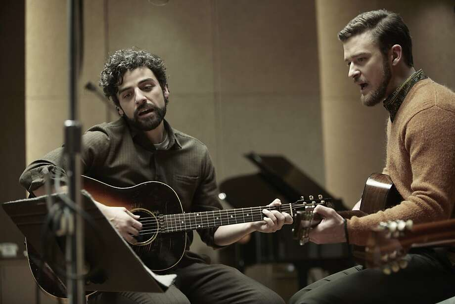 """Oscar Isaac (left) and Justin Timberlake star in Joel and Ethan Coen's """"Inside Llewyn Davis."""" Photo: Alison Rosa, CBS Films"""