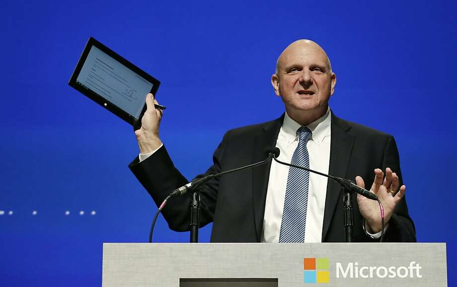 Looking for a replacement for Microsoft CEO Steve Ballmer is proving to be a challenge for the wide-ranging technology company. Photo: Elaine Thompson, Associated Press