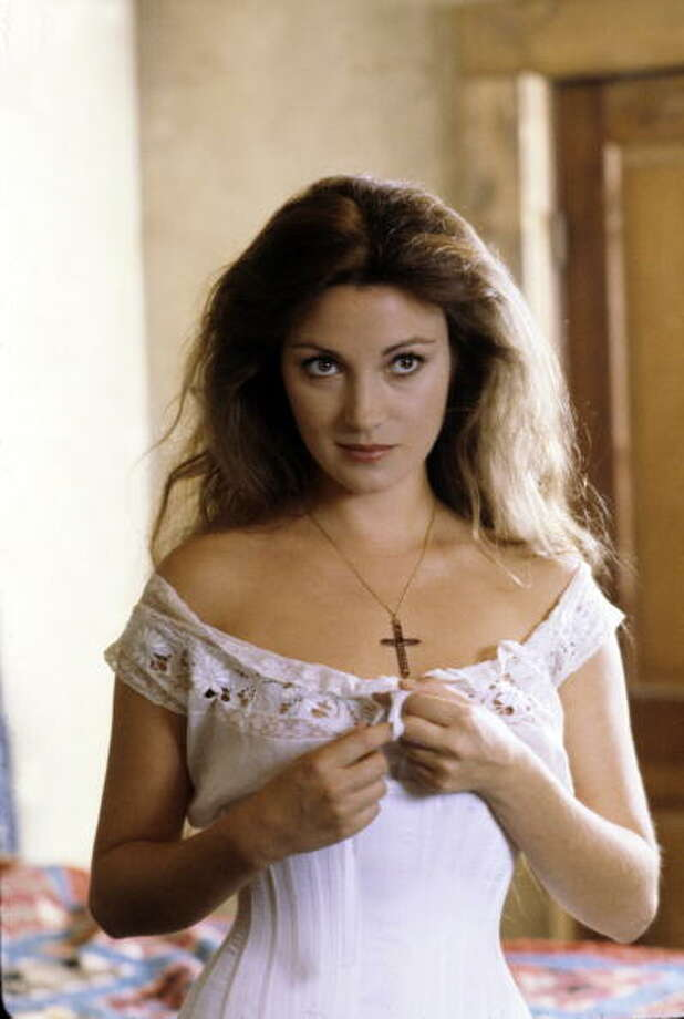 """UNITED STATES - FEBRUARY 08:  ABC MOVIES - """"East of Eden"""" - 2/8/81, Jane Seymour won a Golden Globe Best Actress Award in her dual role as Cathy and Kate Ames in this ABC-TV adaptation of John Steinbeck's novel.,  (Photo by ABC Photo Archives/ABC via Getty Images) Photo: ABC Photo Archives, ABC Via Getty Images"""