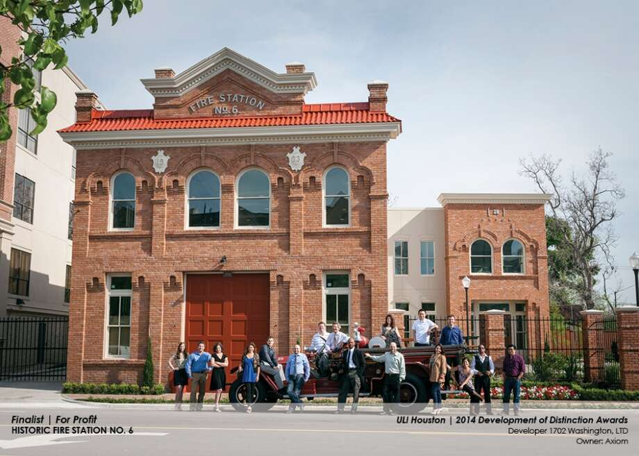 After years of neglect, the fires station was purchased and restored by Tom Hair, president of marketing and communications firm Axiom, which now occupies it. Photo: Courtesy Of ULI