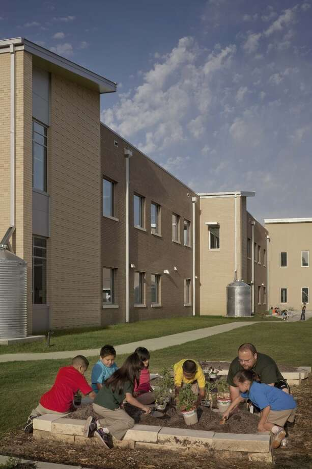 James Berry Elementary in north Houston is a magnet school for environmental science. Photo: Courtesy Of ULI