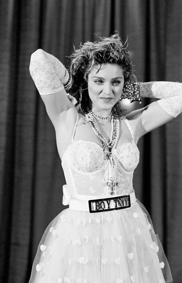 """Madonna's second studio album """"Like a Virgin"""" brought the """"Material Girl"""" into the 1980s. Photo: Time & Life Pictures, Getty Images / Time & Life Pictures"""