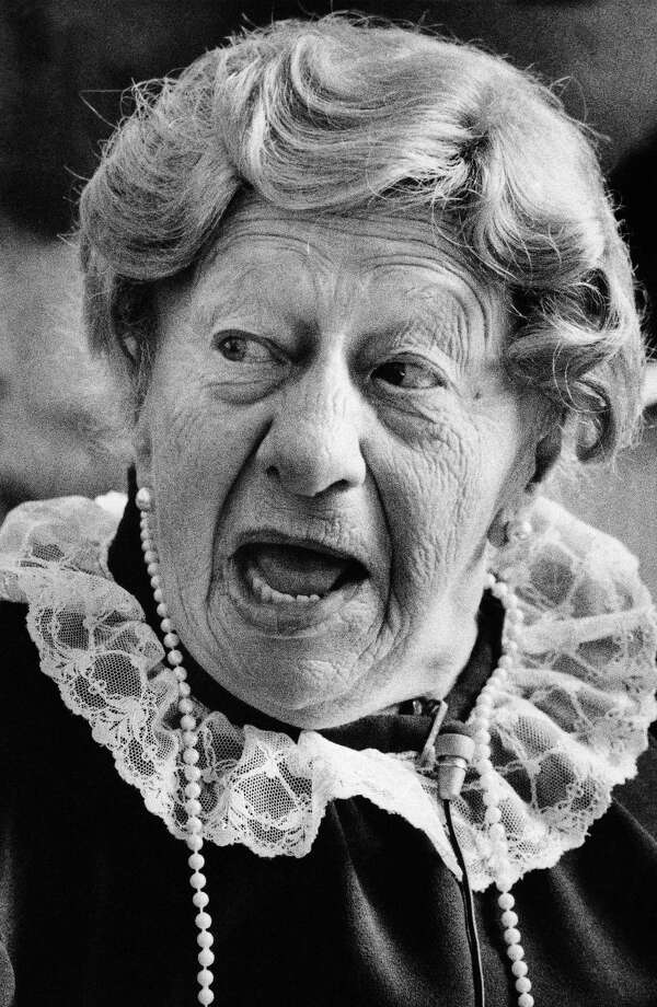 Clara Peller said the famous tagline for Wendy's in a series of commercials beginning in 1984. Photo: CHARLES KELLY, Associated Press / 2006 AP