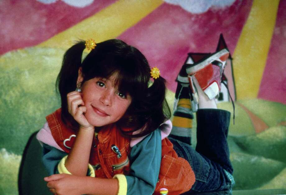 "Soleil Moon Frye is seen as Penelope ""Punky"" Brewster. Photo: NBC, Getty Images / © NBC Universal, Inc."
