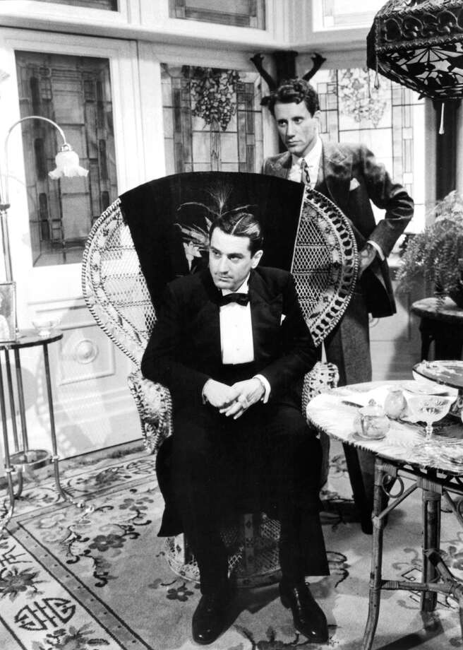 "Robert De Niro sits with James Woods behind him in a scene from the film ""Once Upon a Time in America,"" 1984. Photo: Archive Photos, Getty Images / 2012 Getty Images"