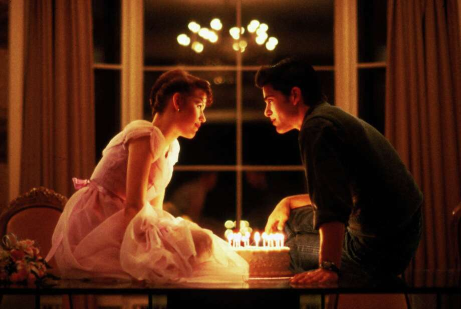 "Molly Ringwald and Michael Schoeffling are shown in a scene from ""Sixteen Candles,"" 1984. Photo: Anonymous, Associated Press / AP2011"