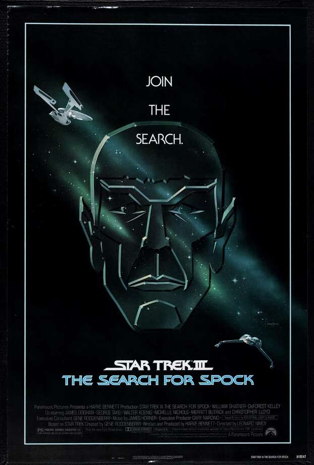 "Poster for the movie ""Star Trek III: The Search for Spock,"" 1984. Photo: Buyenlarge, Getty Images / Moviepix"