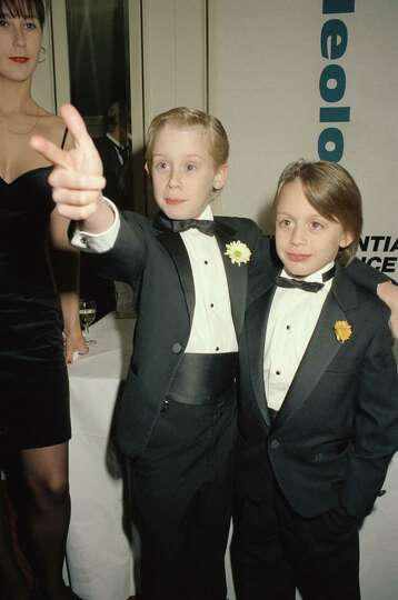 Kieran Culkin  Macaulay Culkin s little brother  played Kevin s cousin    Culkin Brothers