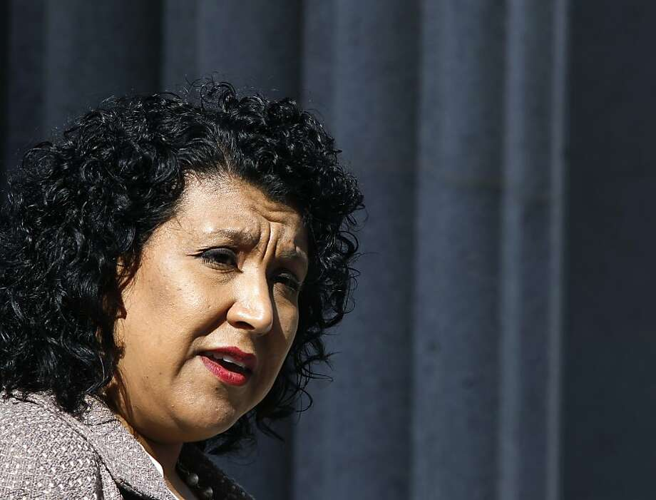 Oakland administrator Deanna Santana is a finalist in Dallas. Photo: Paul Chinn, The Chronicle