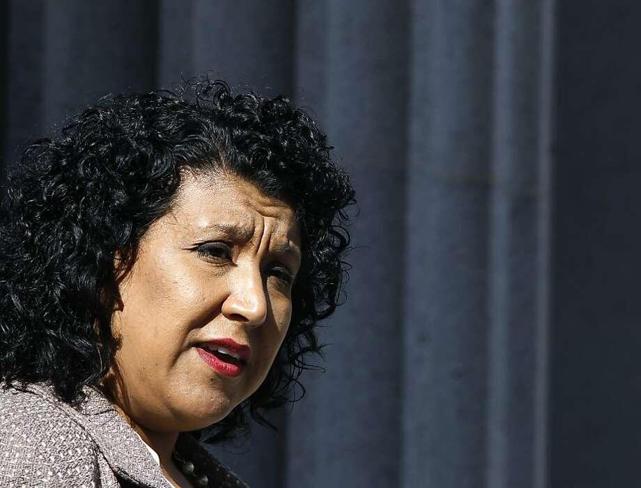 Oakland administrator Deanna Santana is a finalist in Dallas. Photo: Paul Chinn, The Chronicle