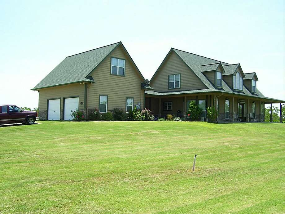2825 Avenue N: This 2005 home has 3 bedrooms, 2.5 bathrooms, 2,815 square feet, and features 10 acres of land, horse pastures, and a guest apartment above the garage. Listed for $375,000.