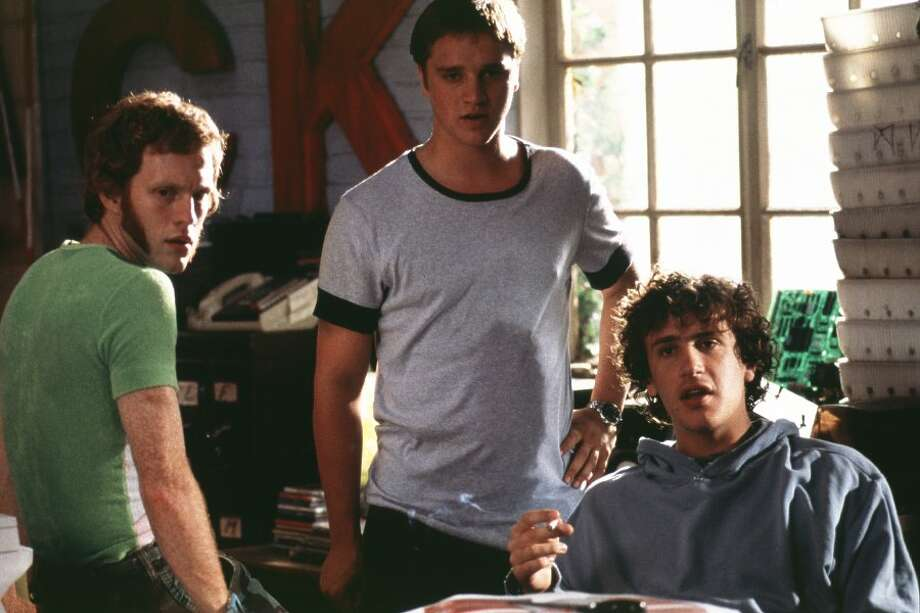 "Maronna is now more of a backstage guy, serving as an electrician for dozens of hit movies and TV shows, but he did play a prominent role in 2002's ""Slackers"" with Jason Segel, Devon Sawa, Jason Schwartzman and Laura Prepon. Photo: Screen Gems"