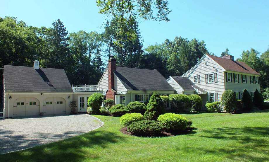 The house at 75 Evergreen Hill Road is on the market for $999,000. Photo: Contributed Photo / Fairfield Citizen contributed