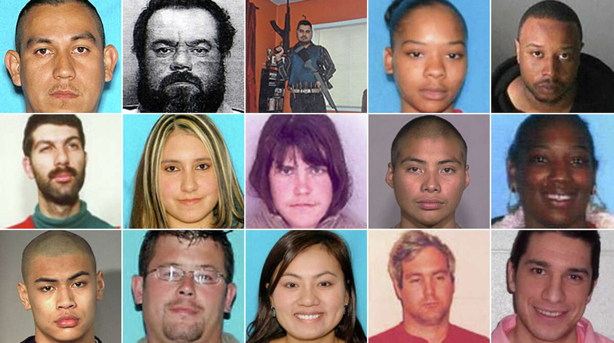 Federal agents are looking for dozens of suspects with connections to Washington. Their alleged crimes range from fraud to child pornography to murder. Take a look.