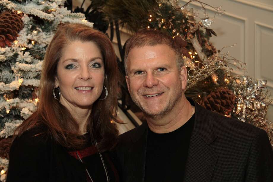 No. 731 - Tilman Fertitta, chairman and CEO of Landry's, with wife Paige ($2.4 billion)