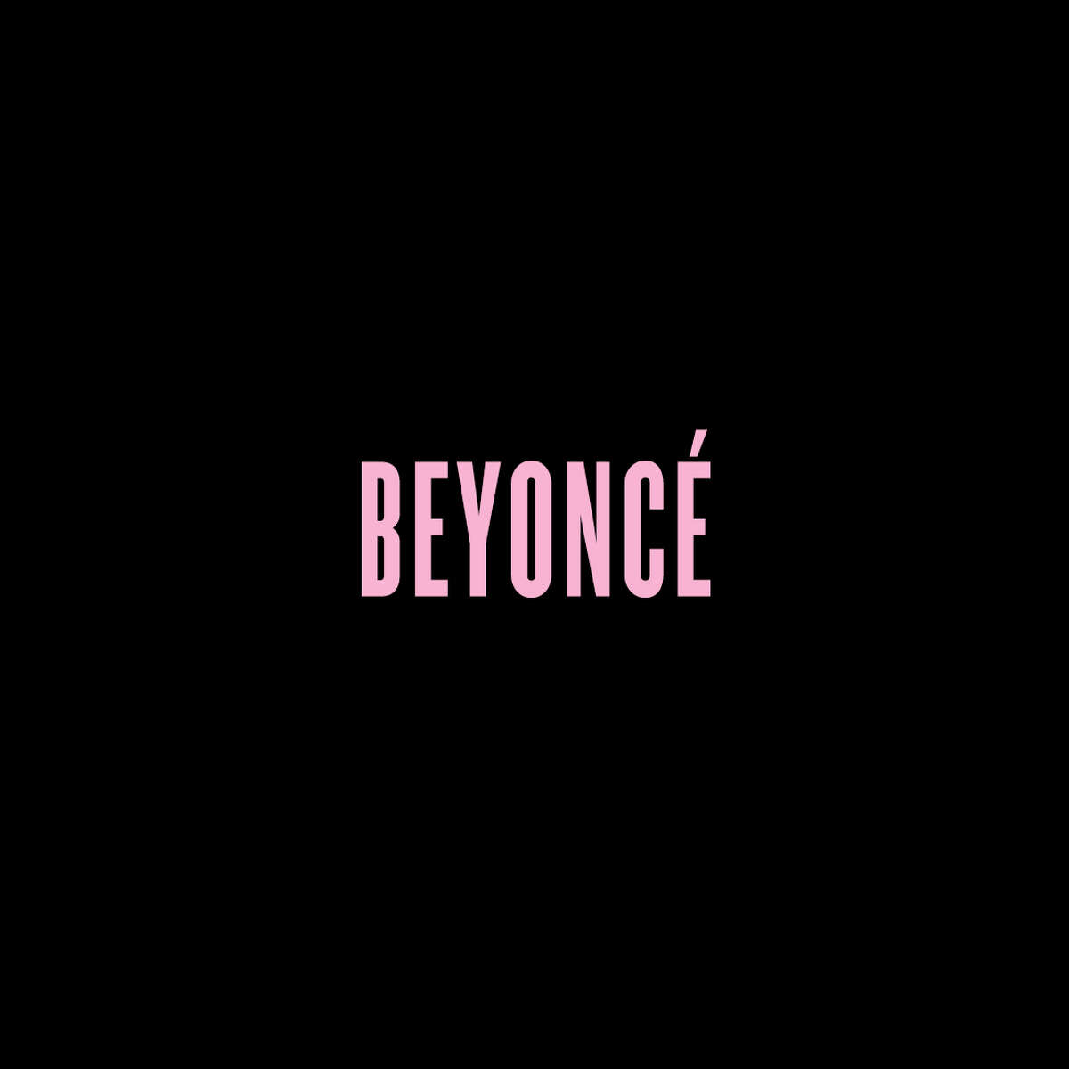 Album art for the self-titled fifth solo album from Beyonc