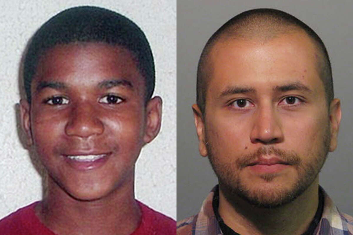 This combo image made from file photos shows Trayvon Martin, left, and George Zimmerman. On February 26, 2012, Zimmerman fatally shot Martin.