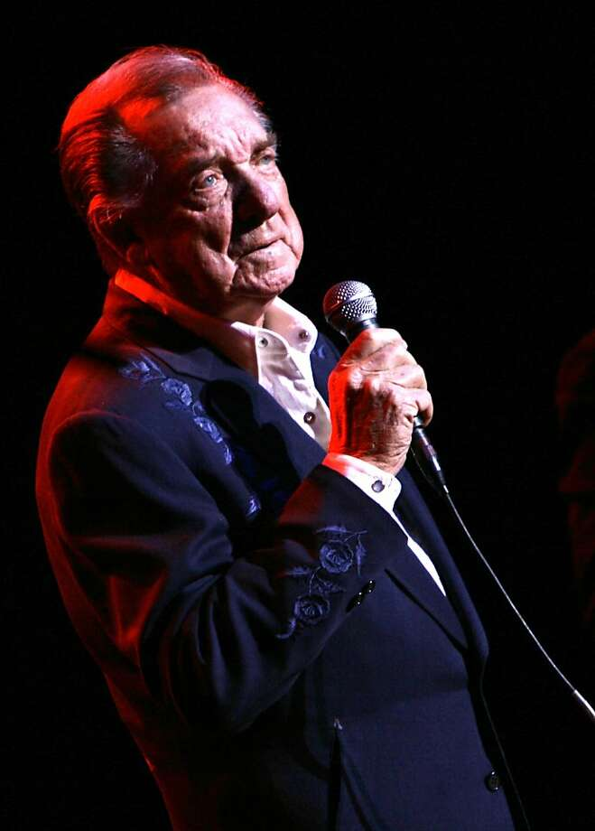 In this March 10, 2007 file photo, Ray Price performs at the Aladdin Theater for the Performing Arts in Las Vegas. Photo: Laura Rauch, Associated Press