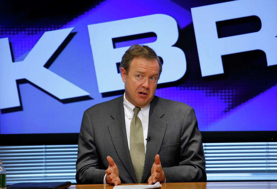 William  Utt has  been KBR's chief  executive since March   of 2006. Photo: J. David Ake, STF / AP