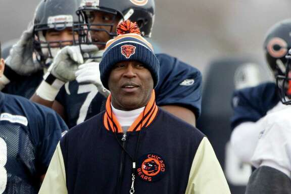 With owner Bob McNair on record as saying he expects the Texans back in the playoffs next season, there will be plenty of pressure on the next coach, whether it is Lovie Smith (left), Bill O'Brien or someone else.