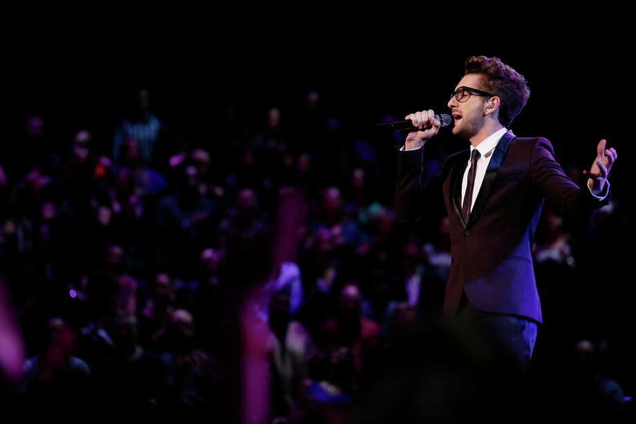 "THE VOICE -- ""Live Show"" Episode 519A -- Pictured: Will Champlin -- (Photo by: Trae Patton/NBC) Photo: NBC, Trae Patton/NBC / 2013 NBCUniversal Media, LLC"
