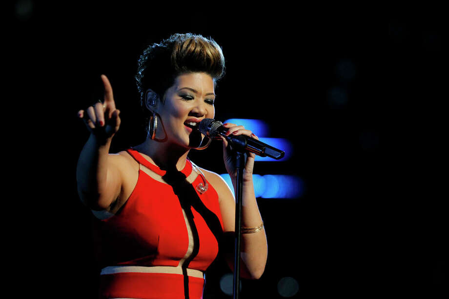 "THE VOICE -- ""Live Show"" Episode 519A -- Pictured: Tessanne Chin -- (Photo by: Trae Patton/NBC) Photo: NBC, Trae Patton/NBC / 2013 NBCUniversal Media, LLC"