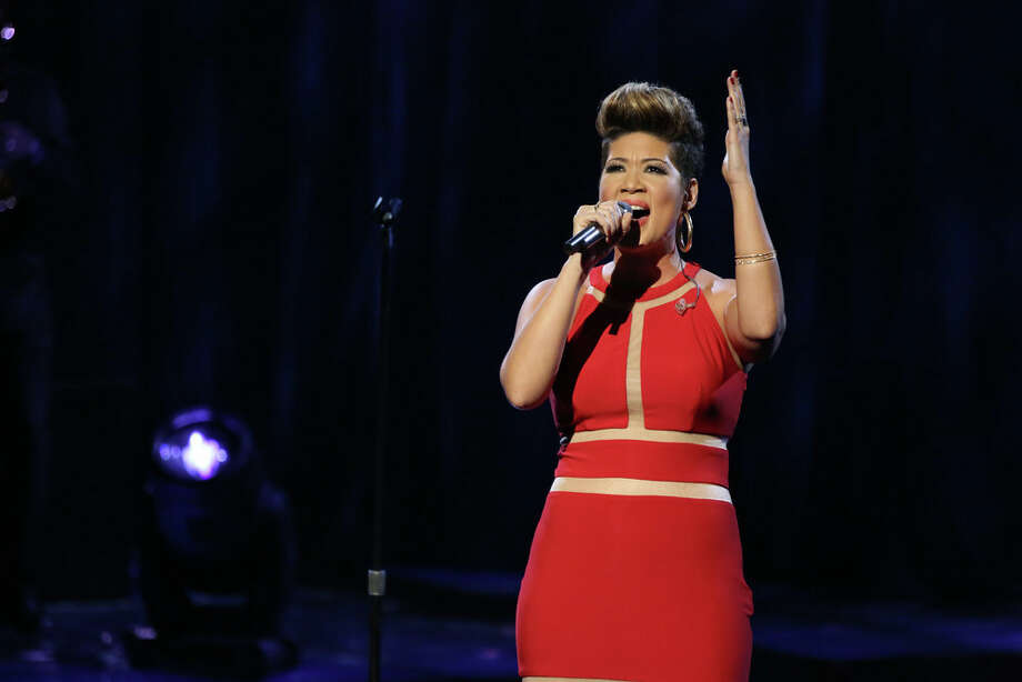 "THE VOICE -- ""Live Show"" Episode 519A -- Pictured: Tessanne Chin -- (Photo by: Tyler Golden/NBC) Photo: NBC, Tyler Golden/NBC / 2013 NBCUniversal Media, LLC"