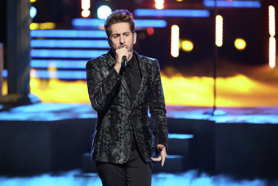 "THE VOICE -- ""Live Show"" Episode 519A -- Pictured: Will Champlin -- (Photo by: Tyler Golden/NBC) Photo: NBC, Tyler Golden/NBC / 2013 NBCUniversal Media, LLC"