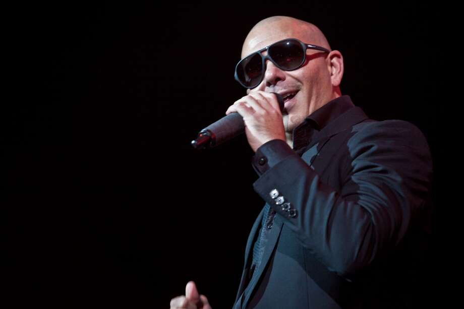 Pitbull performs at the 99.7 NOW! Triple Ho Show at the SAP Center in San Jose on December 3, 2013. Photo: FilterlessCo
