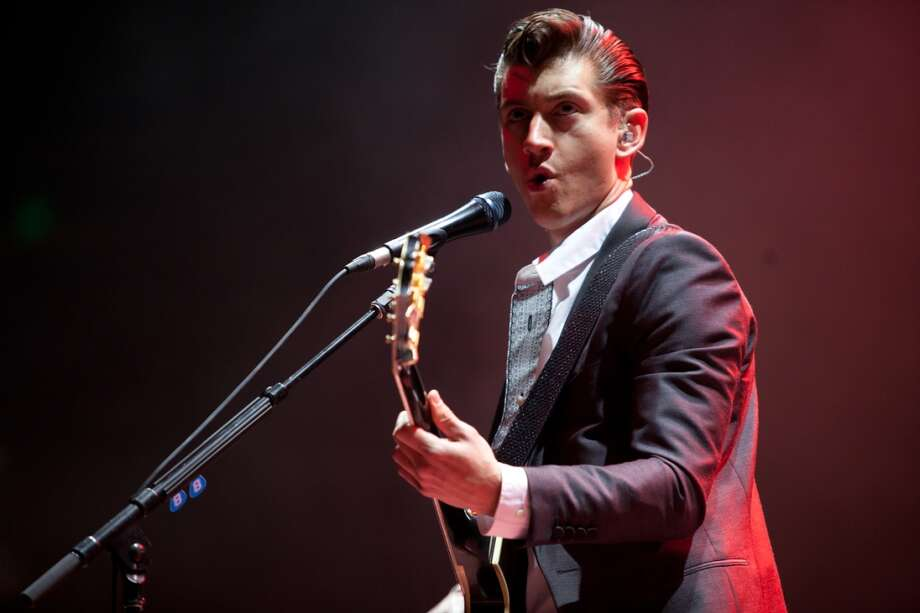 Arctic Monkeys perform at Live 105's Not So Silent Night concert at Oracle Arena in Oakland on December 6, 2013. Photo: FilterlessCo